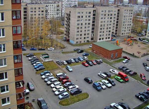 Размещение парковки на придомовой территории