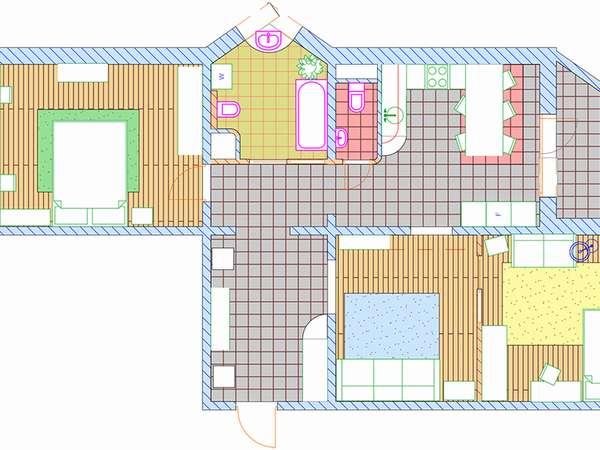 Правильная планировка квартиры-распашонки