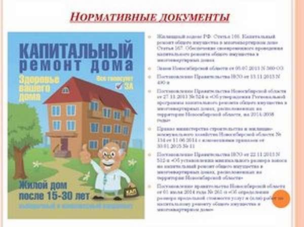 Финансированию ремонтных работ собственниками жилья