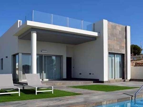 Вилла - здание в стиле минимализм