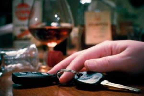 Лишение водительских прав за пьянку