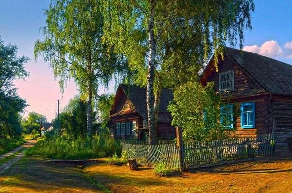 деревенский портал дома даром