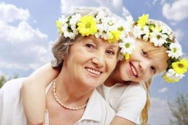 к бабушке
