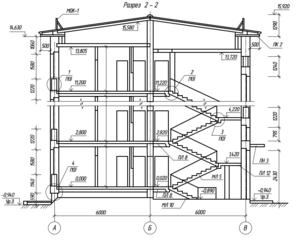 В проекте должны быть также детальные чертежи постройки