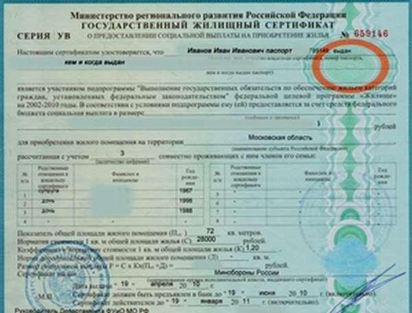 Типовые сертификаты