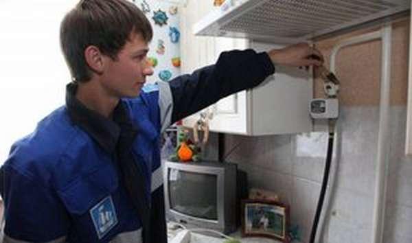 Монтаж газовых счетчиков