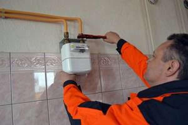 Установка газового счётчика: правила