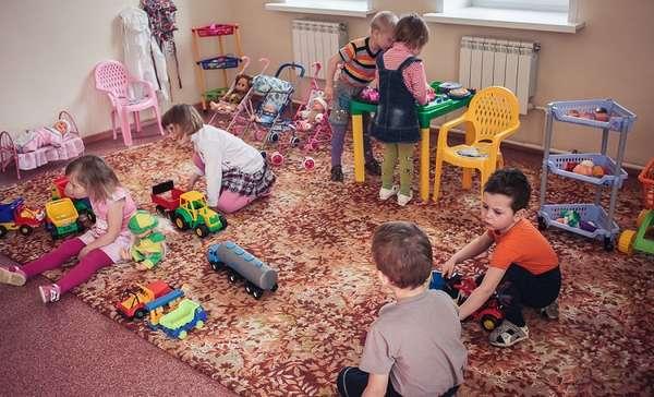 Очередь в детский садик
