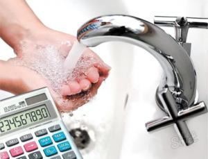 Нормы рассчитываются исходя из среднего использования воды человеком и приборами