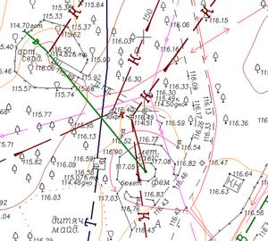 Что показывает топографическая карта