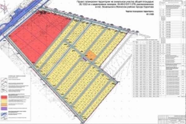 план-проект территории