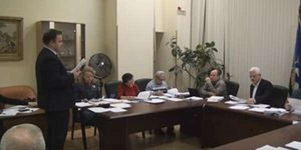 Заседание руководства в Молодострое - фото