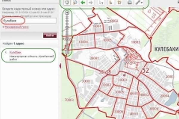 Публичная кадастровая карта - скриншот 1