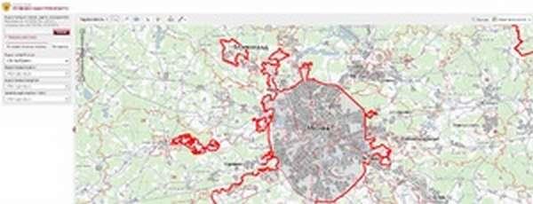 Публичная кадастровая карта - фото земельных участков