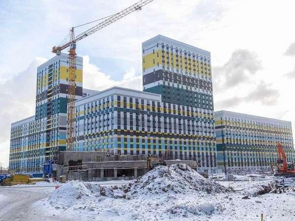 Строительство жк Варшавское шоссе 141