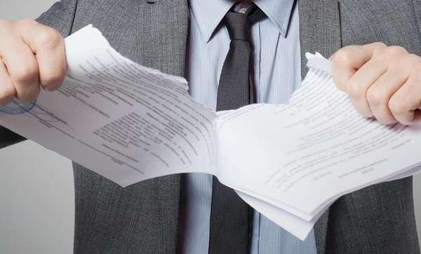 Расторжение арендного договора