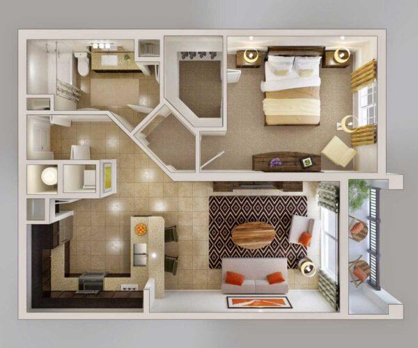 Советы для тех, кто хочет купить двухкомнатную квартиру